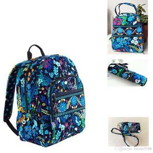 حقيبة المدرسة الطالب الحرم الجامعي NWT مع حقيبة الغداء مع حالة من رصاص مع حقيبة بطاقة