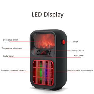2020 Nueva mercancías del hogar 500W Mini cerámica calentador eléctrico del Ministerio del Interior para calefacción portátil ventilador silencioso