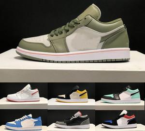 2020 Kith SB Dunk x 1 bas UNC chaussures basses de basket-ball Hommes Chaussures de course Top qualité Planche à roulettes Sport Formateurs Sneaker