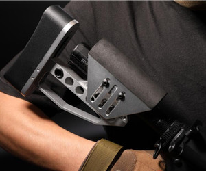 Leichte TB-Aktienm4 HK416 Airsoft CNC Metal XLR Buttstock AR15