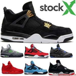 Fiba 2020 mushroom 4 4S bred Jumpman basketball shoes men White Cement 4 4s IV What The Cactus Jack sport sneakers designer trainers