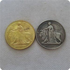 O LEÃO 1839 QUEEN VICTORIA 5 RÉPLICA COIN COPY