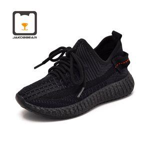 JakobBear bambini Sneakers mesh leggero scarpe per ragazzi ragazze Bambini Sports Ultra traspirante PVC suola Unisex Esecuzione