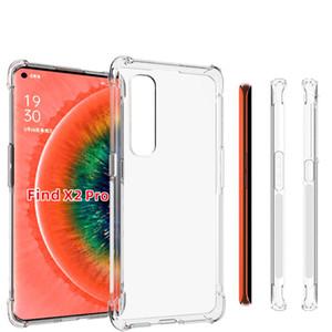 Per Oppo Find X2 X2 Pro A1K Clear Case Anti antiurto trasparente di cristallo TPU copertura posteriore di buon prezzo