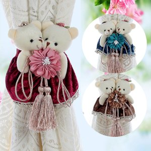Modern Simple Strap Decorative Magnets Curtains Buckle Tie Back Hook Curtain Decorative Accessories lovely Fashion Baby Toy