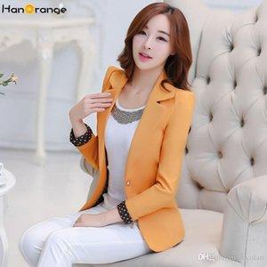 재킷 재킷 HanOrange 2018 캐주얼 사무실 숙녀 OL 봄 가을 여성