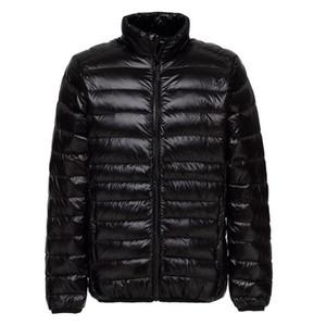 Nouveau Veste Hiver Homme Ultra White Light Canard Doudounes Casual manteau d'hiver portable pour hommes Taille Plus bas Parkas 5XL