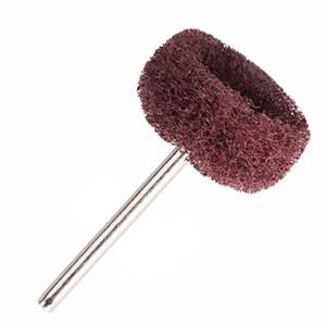 Fibra de nylon 100pcs / Set Mini Escova Esfregão abrasivo rebolo lixar Cabeça de Polimento Polimento Roda 1 Inch 25mm Set