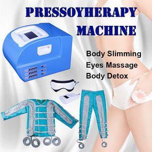 Pressotherapy yağ yakma takım Zayıflama Makinesi pressotherapy lenf drenaj makinesi vücut masajı uygun pressotherapy lenf drenaj
