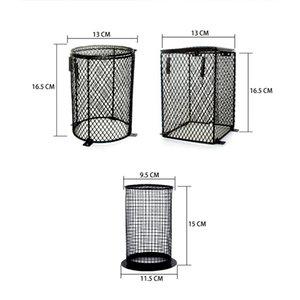 Réptil Anti Scald abajur Pet Reptile Protector Light Bulb Gabinete gaiola Protector para a alimentação Box Reptile Heater Guarda Lamp