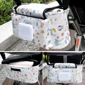 Bebek bezi paketi, yiyecek bir fincan, daha iyi satış, bebek arabası için saklama torbaları, bebek bezi ile su geçirmez çanta