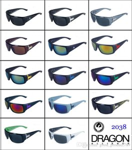 New Charm Sport Rock Colors Outdoor Travel Reflective Dragon Sunglasses Goggles Windproof Glasses Unisex Man Woman 2038 VANTAGE