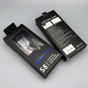 100pcs / lot per Samsung Tipo C cavo da 1,2 m veloce cavo dati USB Charger ricarica per Galaxy S10e S8 S9 Inoltre Nota 8 9 A7 A8 Con la scatola al minuto