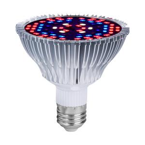 LED Grow Light Full Spectrum 30W / 50W / 80W E27 УФ ИК светодиодных ламп для Growing Крытых гидропоник Цветов Растений светодиодных ламп роста