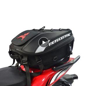 Yeni Su Geçirmez Motosiklet Kuyruk Çantası Çok fonksiyonlu Dayanıklı Arka Motosiklet Koltuk Çanta Yüksek Kapasiteli Motosiklet Rider Sırt Çantası
