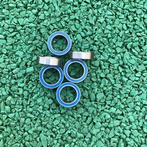 50 pz / lotto 6702-2RS 15 * 21 * 4 cuscinetti impermeabili a sfere profonde a parete sottile sigillati in gomma blu 6702RS 6702 2RS 15x21x4 mm