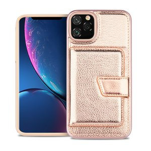 For LG Stylo 5 4 K40 V50 G8 Comfortable Touch Dual Layer Hybrid Card Slot Design Phone Case Cover