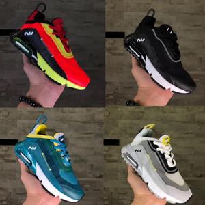 Preschool 2090 XX3 Crianças Running Shoes meninos meninas que andam Sneakers Crianças Trainers Athletic Casual