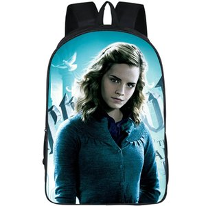 Picture Packsack Potter Harry Hermione Giorno Giorno Zaino Jane School Granger Backpack Bag Pack Tempo libero Schoolbag all'aperto Daypack MHCKM