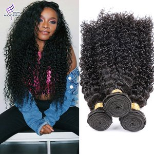 8A Brazilian Curly Virgin Hair Wefts Natural Black Color Brazilian Kinky Curly Hair Weaves Brazilian Deep Curly Virgin Human Hair Extension