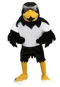Newdeluxe القطيفة الصقر التميمة حلي الكبار الحجم النسر mascotte mascota كرنفال حزب cosply تنكرية البدلة صالح