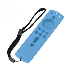 5.9 Inch Full Silicone Solid Soft Remote Control Decorative Removable Home Dustproof Case Protective Cover For Fire TV Stick 4K