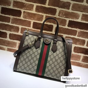 femmes vente chaude totes crossbody en cuir véritable avec sac à bandoulière baguette de manche dur pour les dames 524537