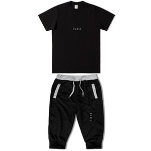 Luxury Designer T-shirt Men's and women's Hip Hop T-shirt short sleeve fashion high quality printing designer men's T-shirt + shorts set