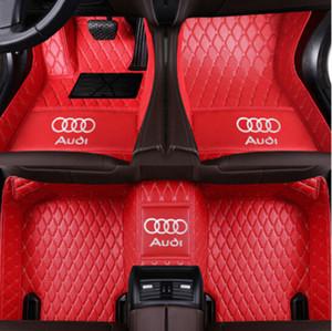 Adecuado para Audi A3 A4 A5 A6 A7 A8 A7 Q3 Q5 Q7 RS5 RS7 S3 S4 S5 S6 S7 TT 2006-2020 Car Tapetes