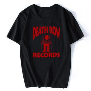 COULOIR DE LA MORT T-shirt RECORDS Homme de haute qualité esthétique cool Hip Hop Vintage T-shirt Harajuku Streetwear Camisetas