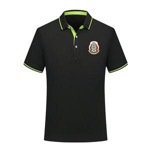 Po camisa homens Designer México equipe nacional de verão de algodão de futebol polo de manga curta camisa camisa dos homens do hoodie de futebol lapela polo formação de Homens