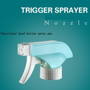 Trigger Sprayer Spray Top Heavy Duty Replacement Nozzle with Mist Spray & Stream Sprayer, Fits Standard 28 400 Neck Bottles + Free Tag Labe