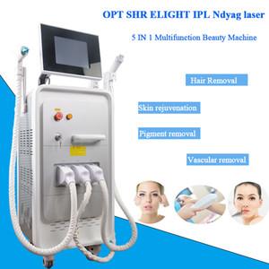 multifunzionale E-Light macchina di depilazione laser a diodi dotato approvato 5 filtri IPL depilazione manuale ringiovanimento della pelle