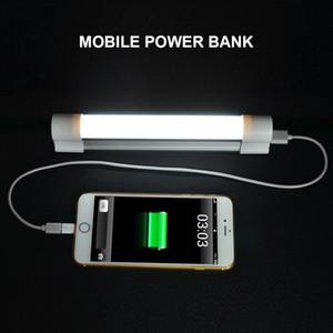 Nueva lámpara de luz de emergencia para exteriores, recargable, portátil, 3 niveles, brillo ajustable, carga USB, modo SOS Luz de tubo para exteriores