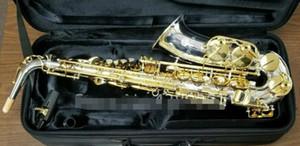 Júpiter JAS 1100SG Nueva Eb Alto Saxophone latón niquelado Cuerpo de Oro Laca Llave mi bemol Música Instrumentos Sax envío