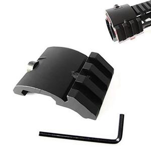 범위, Mangifiers, 손전등의 45도 20mm 사이드 블랙 피카 티니 마운트 오프셋 2020 울트라 로우 프로파일