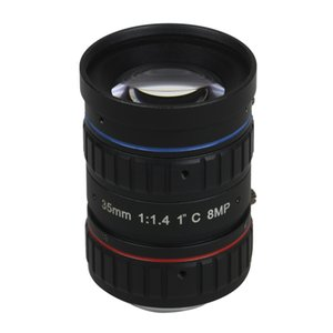 """35mm C Dağı Mercek 4K 8MP F1.2 Profesyonel C Dağı UHD Kamera için 1"""" CCTV Lens Endüstriyel Yapay Görme Mercek"""