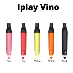 İPlay VINO Tek Vape Kalem Cihaz Bakla Başlangıç Setleri 400 mAh Battey 2ml Kartuşları E-Cigarettes Çubuk Setleri Packaging Vaporizer Kalem boşaltın