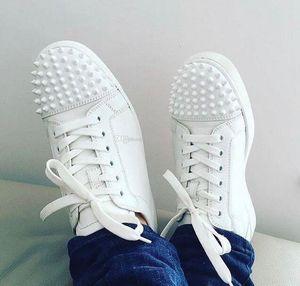 sol de verano. Low-top New Men, Zapatillas de deporte de diseñador para mujer, Famosos zapatos con fondo rojo Lujo Casual Blanco, Picos negros Vestido de novia perfecto para una fiesta
