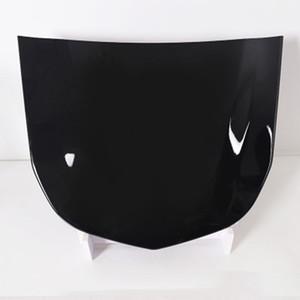 40,5 * 32cm Car Black Metal Bonnet modèle d'affichage de capot peint pour le verre automobile Revêtement d'affichage MO-179K