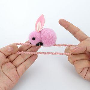 Baby Hair Rubber Bands Rabbit Barrettes Women Girl Scrunchie Kids Hairpins Elastic Ponytail Holder Hair Accessories Hairgrips