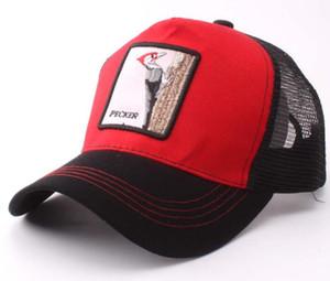 2020010857 Ферма Животных Шляпы Водителя Грузовика Сетки Бейсболка Мужчины Шляпу Бейсбол 1-20