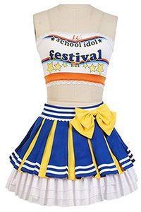 LoveLive! Cheerleaders Costume Uniforme Costume Cosplay Costume
