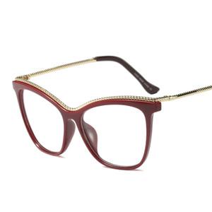 Wholesale-2019 Sexy Cat Sonnenbrille einzigartige Rahmenvorlagen mincl Mode Computer-Brille NX