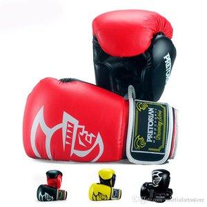 10oz 12oz 14oz 16oz PRETORIAN Muay Thai PU Leather Boxing Gloves Men Women Training MMA Boxing Gloves