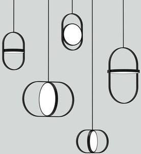 Yeni İskandinav yaratıcı yatak odası başucu avize tasarımcı post-modern basit restoran bar kişilik tek kafa küçük avize