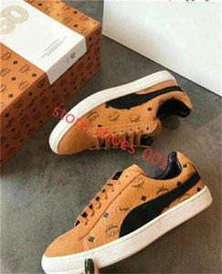 Puma Suede x MCM casual sneakers 2020 nuova stella Big Size 36-45 Casual Shoes Low Top Stars Canvas Shoes xshfbcl delle donne classiche Scarpe di tela da uomo