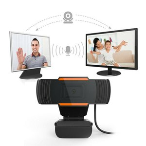 Hot new rotable 2.0 HD Webcam 1080P HDWeb Camera With Built-in HD Microphon 720P USB Plug Play Web Camera Widescreen Video Smart CCTV