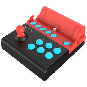 높은 품질 iPega PG-9136 게임 조이스틱 닌텐도 스위치 플러그 앤 닌텐도 스위치 게임 콘솔에 대한 단일 로커 제어 조이패드 게임 패드 플레이