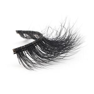 New arrive Wholesale hot sale 5DL65 natural and long 100% Real Mink Fur Private Label 5D Mink Eyelash